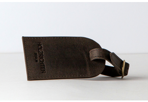 Luggage tag Dark-Brown