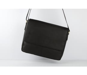 Messenger Bag No 3-1 (S) | Anthracite-Black | Artikelnummer: HR-SA-3-1_b