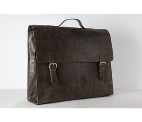 Satchel (L)  | Dark-Brown | Artikelnummer: HR-SA-1-3_db