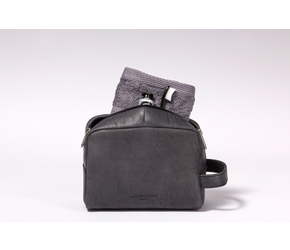 Washbag (M) | Anthracite-Black | Artikelnummer: HR-WB-4-1