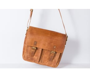 Messenger Bag No 4-2 (S) | Camel | Artikelnummer: HR-SA-4-2_c