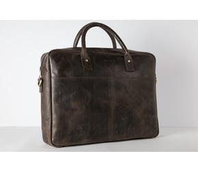 Briefcase No 1-1 (M)   | Dark-Brown | Artikelnummer: HR-BC-1-1_db