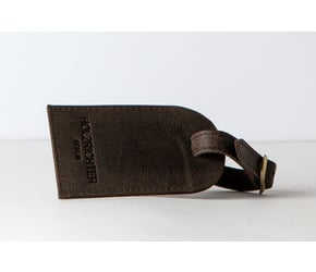 Luggage tag No 1-1 | Dark-Brown | Artikelnummer: HR-AT-1-1_db
