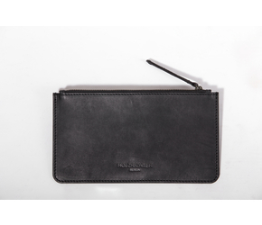 Leather Pouch | Anthracite-Black | Artikelnummer: HR-PO-1-1_b