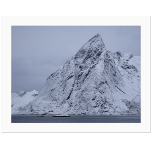 Covered with Ice |  Hamnøy, Lofoten Islands, Norway, 2013 | Edition Print 24   unlimitiert | Bildnummer: IQ180_130305_004-24