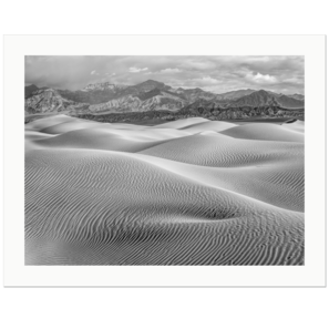 Dunes and Mountains II | Death Valley National Park, California, 2015 | Edition Print 24   unlimitiert | Bildnummer: IQ180_151103_029bw-24