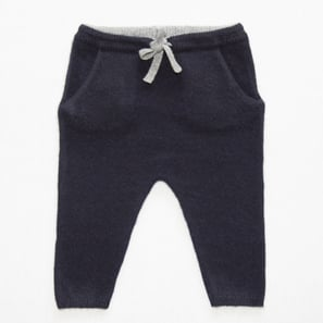 Cashmere Baby Pants | 100% Cashmere, Colour: Dark Navy | Code: 0716BP010156XXX