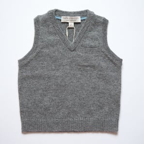 Tank Top | 100% Cashmere, Colour: Dark Grey Mélange | Code: 0715BT010182XXX