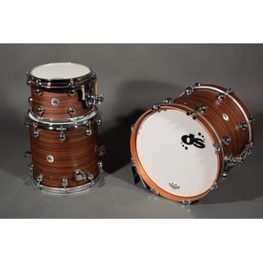 DS Drums Rebel Maple Indian Rosewood Solid Satin | 18/12/14