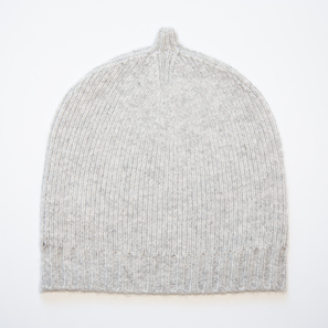 Cashmere Hat TONI | 100% Cashmere, Colour: Light Grey Mélange | Code: AH05018181XXX