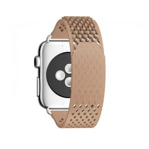 LABB Apple Watch Uhrenarmband von Noomoon | High-End Fluoroelastomer Kunststoff | Farbe nude | Artikelnummer: LABB nude