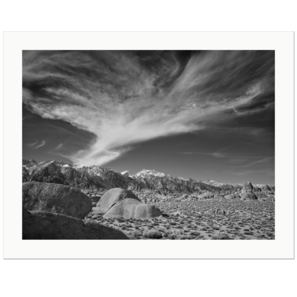Y-Cloud | Alabama Hills, Lone Pine, California, 2015 | Edition Print 24   unlimitiert | Bildnummer: IQ180_151105_058-24