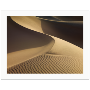 Clean Dune | Mesquite Flat Dunes, Death Valley National Park, California, 2011 | Edition Print 24   unlimitiert | Bildnummer: P65_110306_076-24