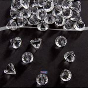 Diamanten Transparent 12 mm Tafeldeko Tischdeko |  | Artikelnummer: 8714572213912