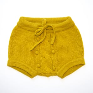 Baby Bloomer | 100% Cashmere, Colour: Citronelle | Code: 0718BP060112XXX