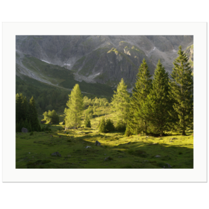 The End of a Summer Day | Stegmoosalm, Hochkönig, Salzburg, Österreich, 2017 | Edition Print 24   unlimitiert | Bildnummer: x1d_170730_027-24
