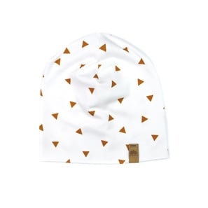 Triangles Beanie 3-6 Monate | Bio Interlockjersey  | Artikelnummer: 135468768