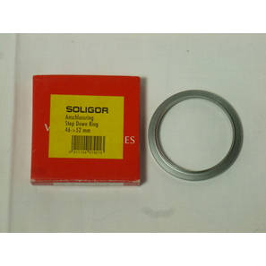Soligor Adapterring, 46-52mm, silberfarben | Adapterring | Artikelnummer: LA167B