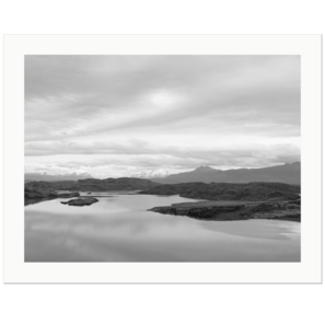 Lago Nordenskjold | Torres del Paine National Park, Patagonia, Chile | Edition Print 24   unlimitiert | Bildnummer: X1d_190120_056bw-24