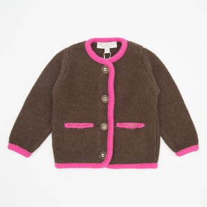 Oktoberfest Cardigan | 100% Cashmere, Colour: Brown | Code: 0715BC040171XXX