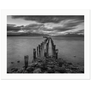 Old Pier | Puerto Natales, Patagonia, Chile, 2019 | Edition Print 24   unlimitiert | Bildnummer: X1d_190117_032bw-24