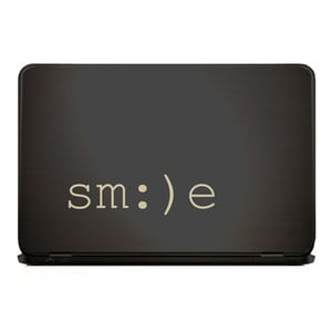 SMILE Laptop Sticker HAPPINESS IS HOMEMADE  |  | Artikelnummer: 55676491