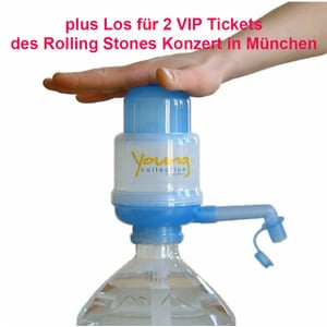 Young Collection plus Los für Vip Tickets für Rolling Stones Konzert | Young Collection Blau | Artikelnummer: YCVTRSK