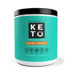 perfect KETO Collagen Pulver | Salted Caramel