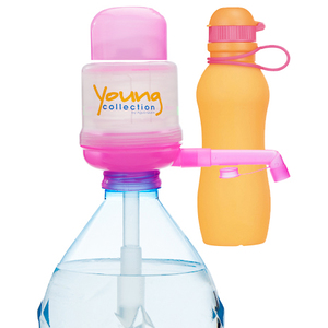 Paquet Special SP  1 pink 700 orange |  1 Pump Young Collection pink plus Viv Bouteile 700 ml orange | Artikel-Nummer: 1 YCP plus VIV SP 700  orange