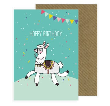 Karte: Lama (Happy Birthday) |  | Artikelnummer: 0788400037368