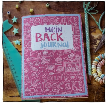 Mein Backjournal | lustiges Journal mit Cheesecake Rezept  | Artikelnummer: Backjournal