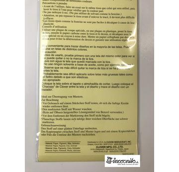 Schnittmusterpapier / Kopierpapier - incocnito