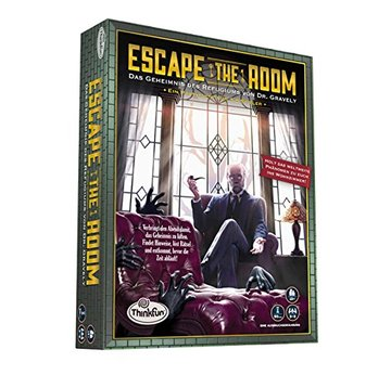 Escape the Room 13+ - Das Geheimnis des Refugiums von Dr. Gravely |  | Artikelnummer: 4018928112428