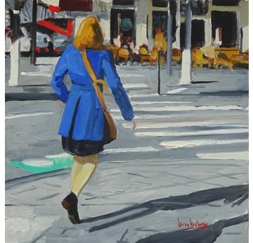 Blue Coat | 19 x 19 cm | Artikelnummer: BROAN41
