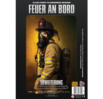 Flash Point: Flammendes Inferno - Feuer an Bord | Erweiterung | Artikelnummer: 4015566033528