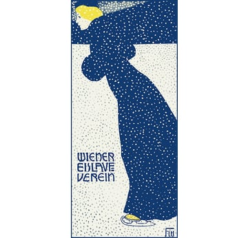 Advertising poster 1903 | Wiener Eislaufverein | Artikelnummer: PODE-BI-12983-1-3-A4