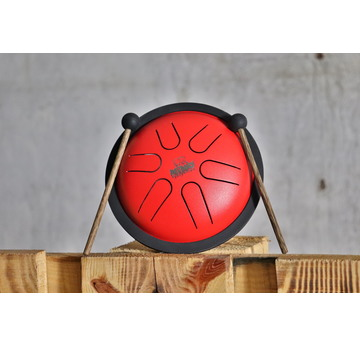 NINO Percussion Mini Melody Steel Tongue Drum rot | NINO980R | Artikelnummer: NINO980R