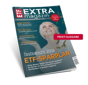 ETF-Sparplantest 2018 (Print-Version inkl. Versand) | Ausgabe April 2018 | Artikelnummer: 201804P