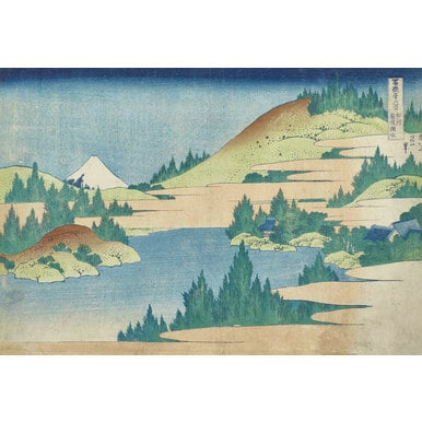 Thirty-six Views of Mount Fuji | Sea at Hakone in Sagamin province | Artikelnummer: PODE-KI-10992-A1
