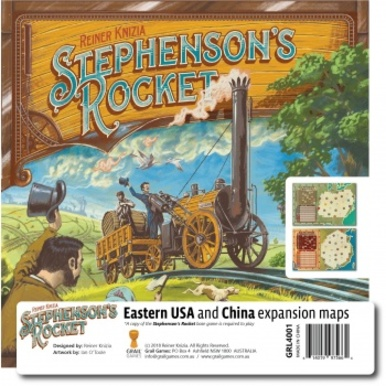 Stephenson's Rocket: Eastern USA & China | Erweiterung | Artikelnummer: 614019975664