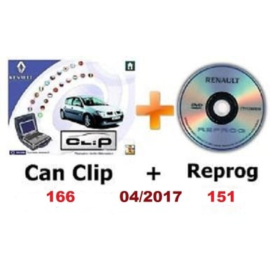 CanClip 166 plus Reprog 151 Version 04/2017 | Windows XP und Windows 7 32bit ! | Artikelnummer: 000001011