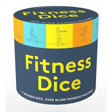 Fitness Dice, 7 Wooden Dice, Over 45,000 Workout Routines!  |  | Artikelnummer: 9781452182384