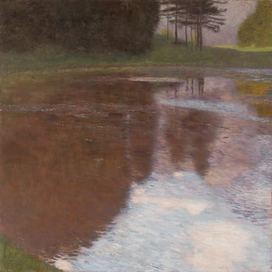 GUSTAV KLIMT: A Morning by the Pond |  | Artikelnummer: POD-LM-02007-A2E