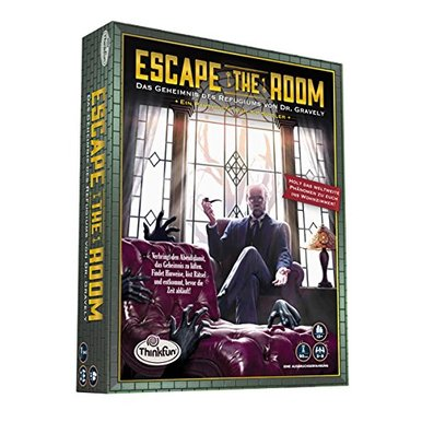 Escape the Room 13+ - Das Geheimnis des Refugiums von Dr. Gravely | ThinkFun | Artikelnummer: 4005556763108