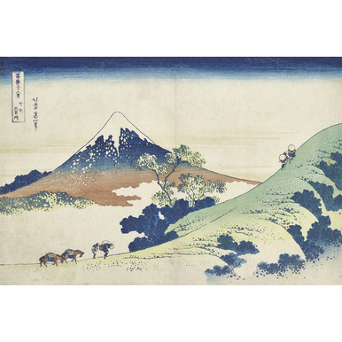 Thirty-six Views of Mount Fuji | Inume mountain Pass in Kai province | Artikelnummer: PODE-KI-10998-A4S