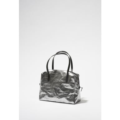 Crew Bag | Designed by Papier Langackerhäusl | Artikelnummer: Design_019_metallic_silber