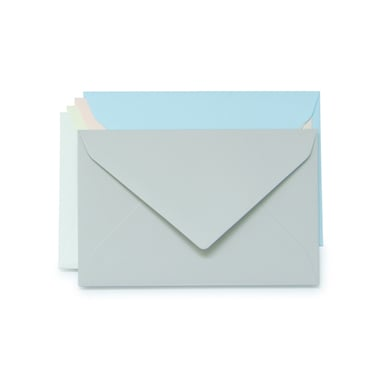 Rivoli Dame Kuverts / Lady Envelopes  | Hellgrau / Light grey | Artikelnummer: 555.423_dame_grau