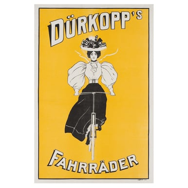 Dürkopp´s Fahrräder | Advertising Poster around 1905 | Artikelnummer: POD-PI-2756-A2