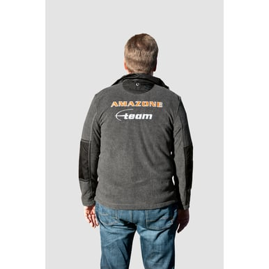 Team-Fleece-Jacke, anthrazit |  | Artikelnummer: ML511