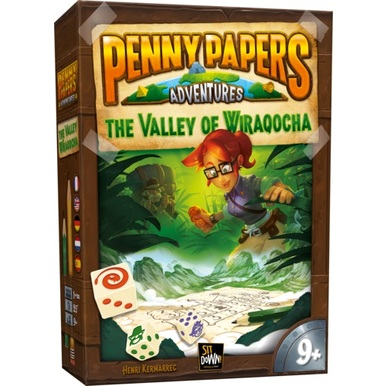 Penny Papers Adventures: Valley of Wiraqocha |  | Artikelnummer: 660042425454
